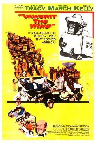 Пожнешь бурю / Inherit the Wind (Стэнли Крамер / Stanley Kramer) [1960 г., Драма, DVDRip]