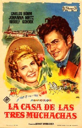 Шуберт. Песнь любви и отчаяния / Das Dreim&#228derlhaus (Эрнст Маришка / Ernst Marischka) [1958 г., Драма, DVDRip] MVO + Original