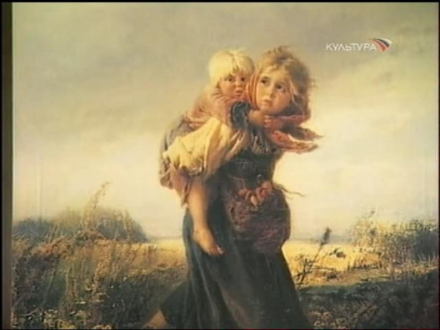 Makovsky Konstantin - Дети, бегущие от грозы (1872) .